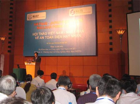 Hội thảo Việt Nam- Nhật Bản về an toàn điện hạt nhân