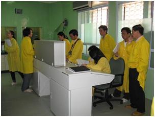 Đợt học tập và thực hành tại Đà Lạt của các học viên khoá huấn luyện chuyên ngành năng lượng nguyên tử năm 2007