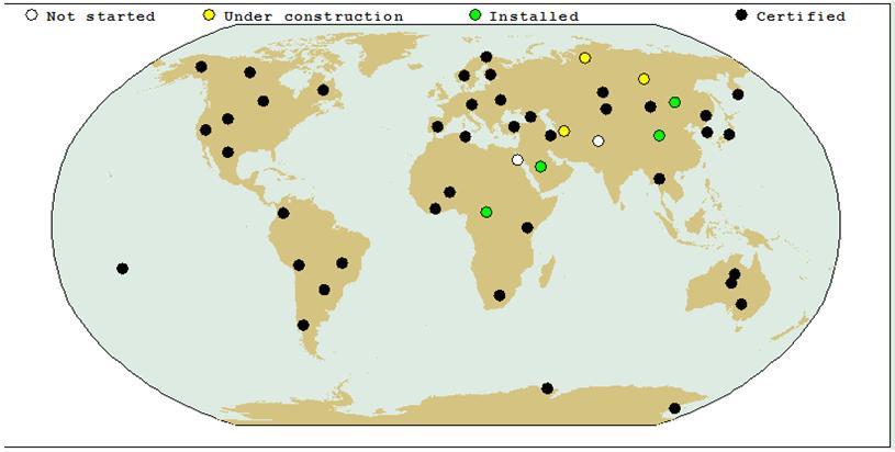 Công nghệ địa chấn sử dụng trong Hệ thống quan trắc quốc tế của CTBTO