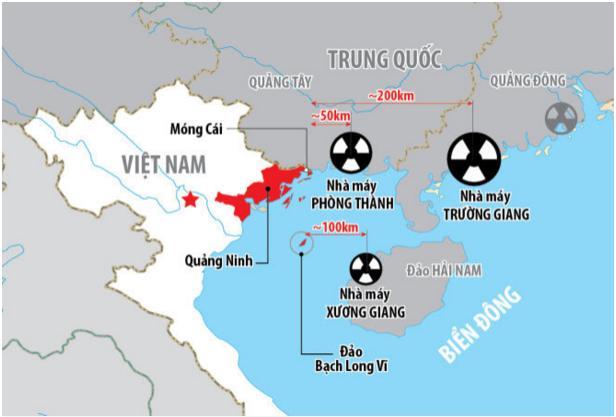 Không được chủ quan với nhà máy điện hạt nhân Trung Quốc