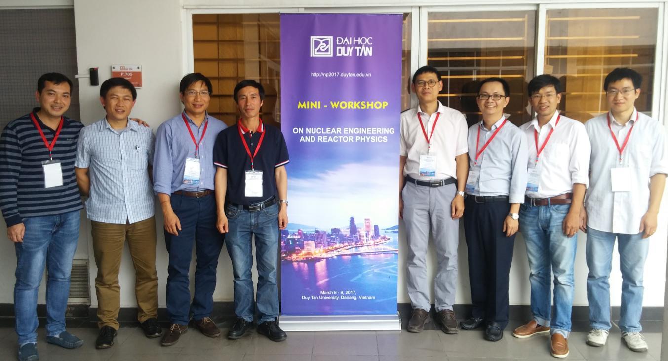 Hội thảo chuyên đề về Kỹ thuật hạt nhân và Vật lý lò phản ứng tại Đại học Duy Tân Đà Nẵng