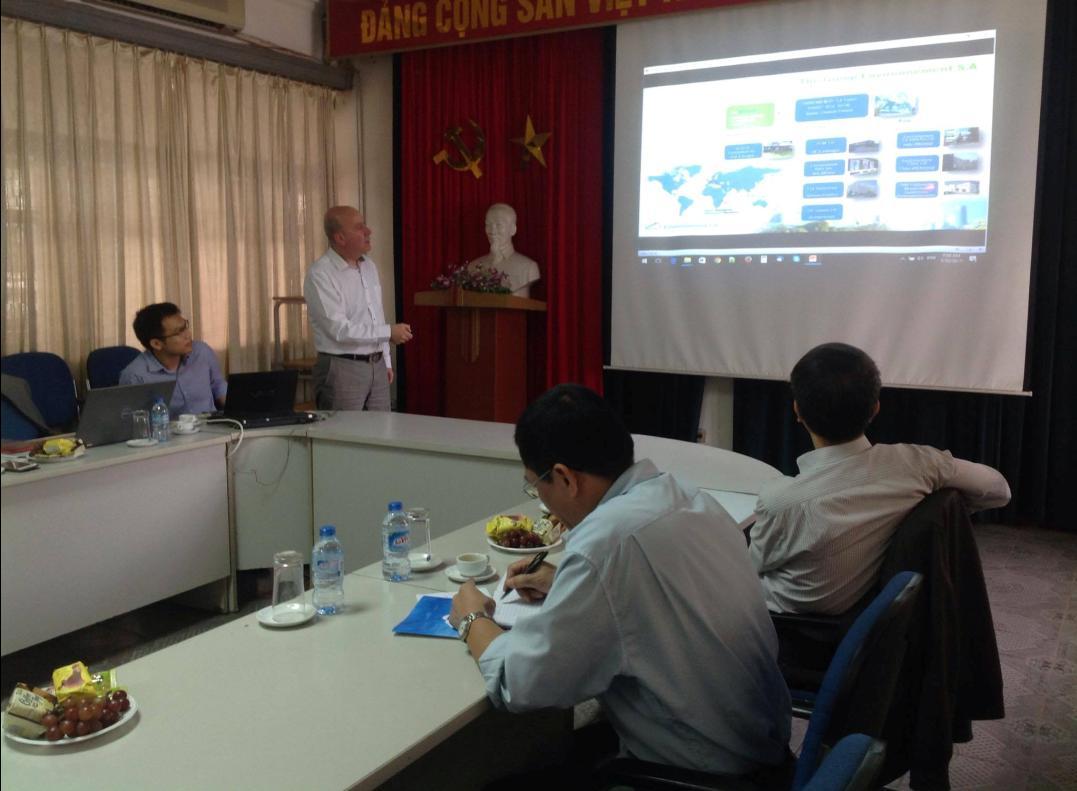 """Hội thảo """"Mạng lưới quan trắc  phóng xạ toàn cầu và Hệ thiết bị đo tự động hoạt độ phóng xạ của  Xenon"""""""