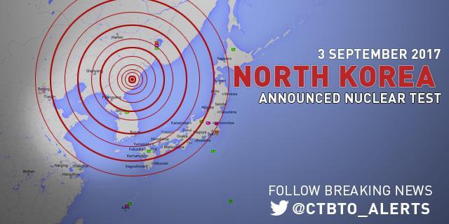 Thư ký Điều hành của CTBTO Lassina Zerbo nói về sự kiện địa chấn bất thường được phát hiện tại Cộng hòa Dân chủ Nhân dân Triều Tiên