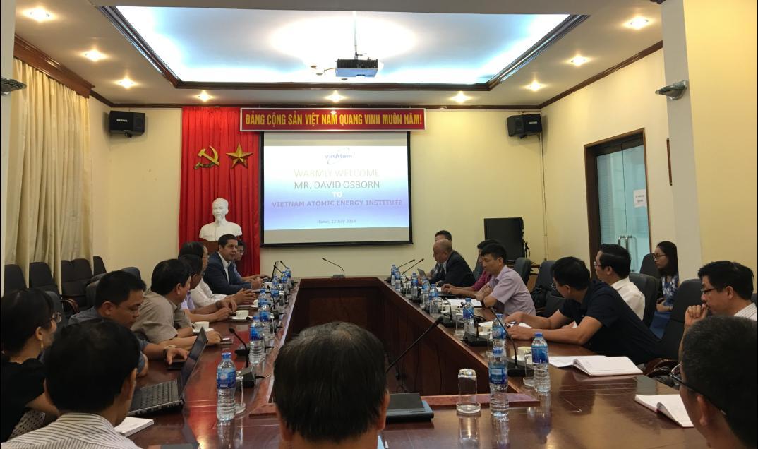 Hội thảo định hướng xây dựng Trung tâm Hợp tác với IAEA về ứng dụng kỹ thuật hạt nhân trong nghiên cứu môi trường