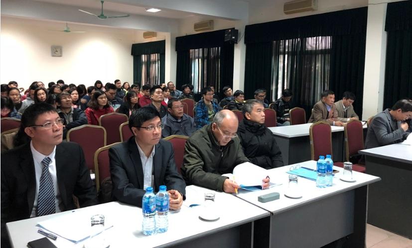 Hội nghị cán bộ - viên chức và tổng kết công tác năm 2018 của Viện Khoa học và Kỹ thuật hạt nhân