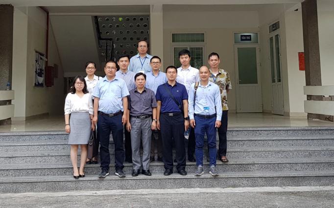 Viện Khoa học và Kỹ thuật hạt nhân đón tiếp và làm việc với đoàn công tác NNSA, Trung Quốc