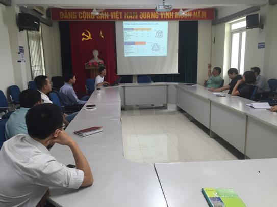 Seminar khoa học định kỳ tại Viện Khoa học và Kỹ thuật hạt nhân