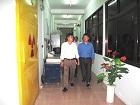 Tân Viện trưởng Viện Năng lượng nguyên tử Việt Nam - TS. Trần Chí Thành đã đến thăm và làm việc với Viện Khoa học và Kỹ thuật hạt nhân