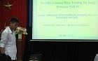 Sinh viên Đại học Bách khoa Hà Nội thực tập chuyên môn tại Viện Khoa học và Kỹ thuật hạt nhân