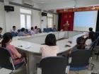 Đoàn thanh niên Viện Khoa học và Kỹ thuật hạt nhân tổ chức hội thảo khoa học chuẩn bị cho báo cáo tại Hội nghị Khoa học và Công nghệ hạt nhân lần thứ 13